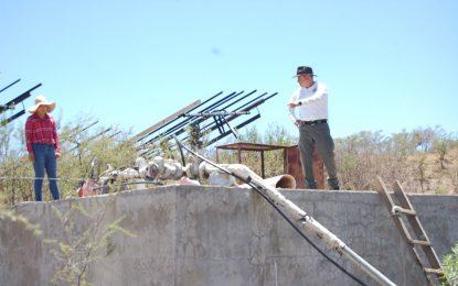 Anuncia Noel Chávez construcción de sistemas de red hidráulica en las comunidades de Calabazas, San Juan Nepomuceno y Agua Amarilla