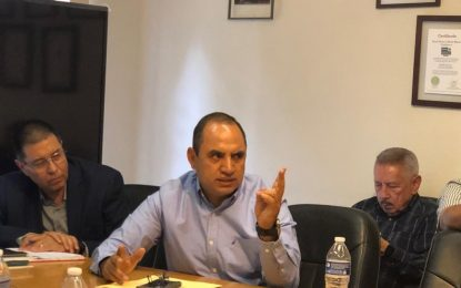 Anuncia Noel Chávez instalación de un banco en Guadalupe y Calvo