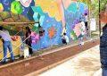 Nuevo mural de Arte Urbano en el Parque lineal.