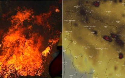 """""""Aniquilan"""" incendios casi ¡1 millón de hectáreas en Bolivia!"""
