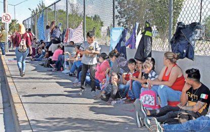 'Toman' puentes ahora migrantes mexicanos