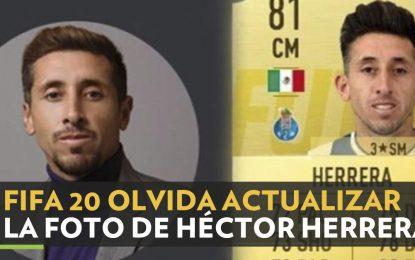 FIFA 20 pone foto de Héctor Herrera previo a cirugías