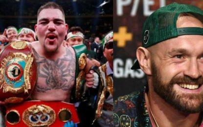 Amenazó Andy Ruiz Jr a Tyson Fury por usar la bandera de México