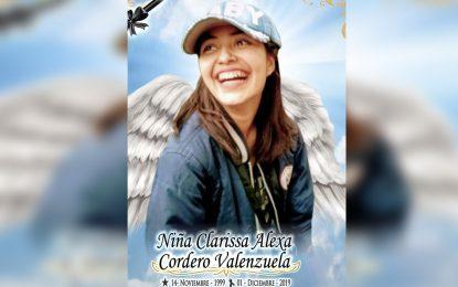 Despiden en redes sociales a Clarissa Cordero; falleció tras accidente en Allende