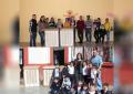 Entrega Betty Chávez aires acondicionados en escuelas de parral