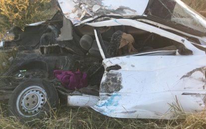Fallece mujer accidentada en entronque de Allende; pasajeras están identificadas
