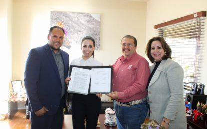 Firman convenio de colaboración FECHAC y DIF Parral