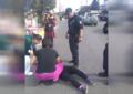 Mujer se lanza a vehículos en la Av. Independencia; fue embestida