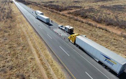 Aplicó SCT 216 multas a transportistas por exceder peso y dimensiones