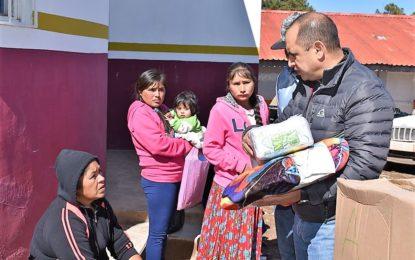 Continúa apoyo a comunidades más desprotegidas en Gpe y Calvo