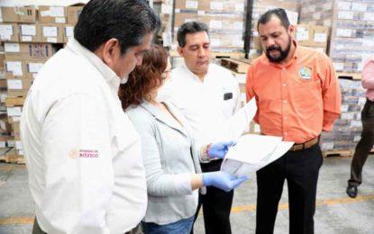 Distribuye IMSS en el estado insumos para la atención del coronavirus