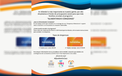 Otorgaran en Allende apoyos de impacto ante contingencia de COVID-19