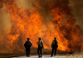 California en alerta por incendio forestal