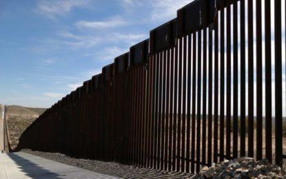 Terminaron más de 640 kilómetros del muro fronterizo