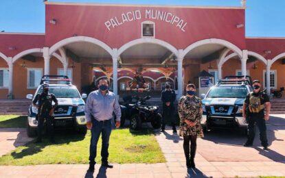Dota Jenny Figueroa de más patrullas a policías de Allende