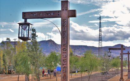 El nuevo Parque La Estación quedará listo antes de que termine el año: Lozoya.
