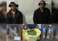 Detienen en Gpe y Calvo a dos hombres armados, traían marihuana y amapola