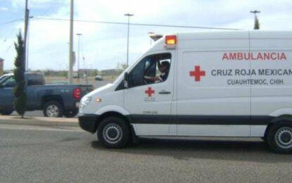 Se intoxican cuatro menores de edad y un adulto tras fuga de gas en Cuauhtémoc