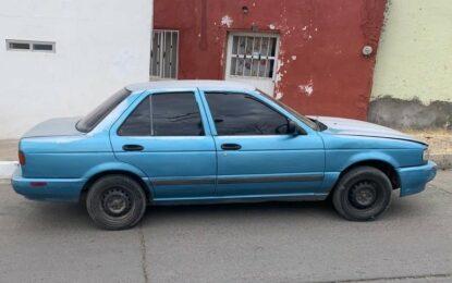 Recuperan vehículo robado en Parral