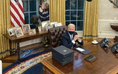 Regresa EU a la OMS y el Acuerdo de París, ordena Biden