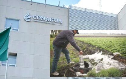 Renueva Conagua por email 2500 concesiones a agricultores de Chihuahua