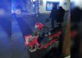 Impacta contra conductora de motocicleta en la Independencia