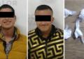 Los detienen con cocaína en la Juárez; posan para la foto