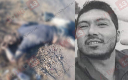 Identifican al ejecutado de la vía corta; tenía reporte de desaparecido