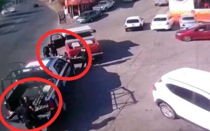 Continúan patrullando agentes estatales, acusados de lesiones y abuso de autoridad