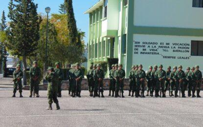 Coronel Francisco Aldaba Macías, nuevo comandante del 76 Batallón de Infantería