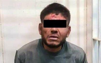 Cae presunto asesino de policía en Camargo