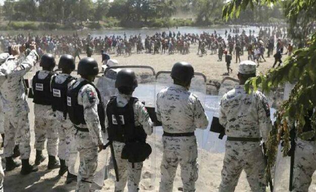Desplegará México más tropas en frontera sur para controlar migración
