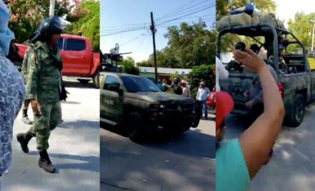 ¿Cómo fue que se robaron armas de la Guardia Nacional en La Boquilla?