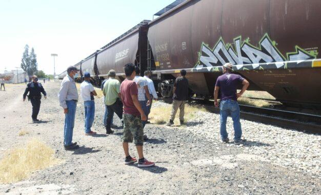 Hombre es arroyado por el tren, queda gravemente lesionado