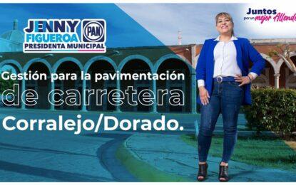 Jenny Figueroa gestionará carretera de Dorado y Corralejo