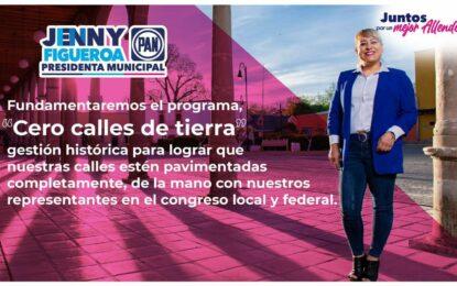 Gestión total en programa cero calles de tierra en Allende