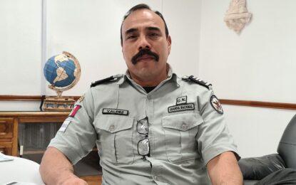 Jaime Valdez Lara, nuevo Coordinador Regional de la Guardia Nacional en Parral