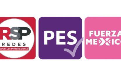 Arranca desaparición de PES, RSP y FXM, anuncia INE