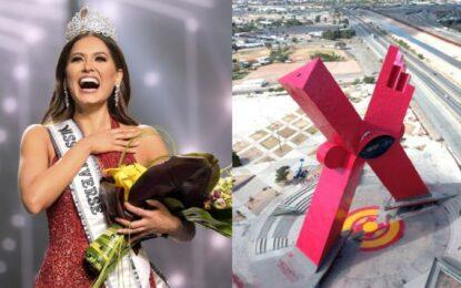 Primer evento oficial de Andrea Meza fuera de EU ¡será en Juárez!
