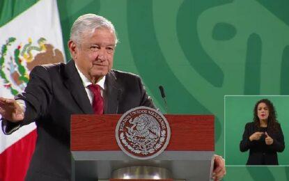 Va reforma electoral, al INE menos costoso y sin pluris: AMLO