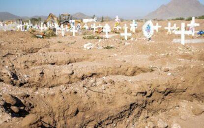 COVID, causa de muerte líder en el estado; 9177 víctimas