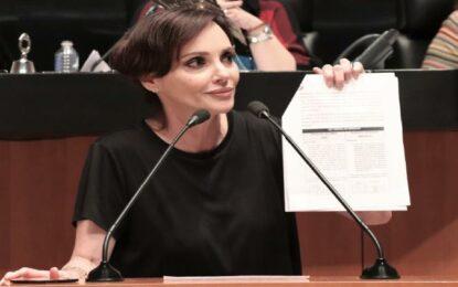 Lilly Téllez busca poder hacer juicio político contra presidentes
