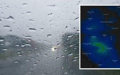 """""""Esperanza"""": pronostican lluvias para el estado a partir del domingo"""