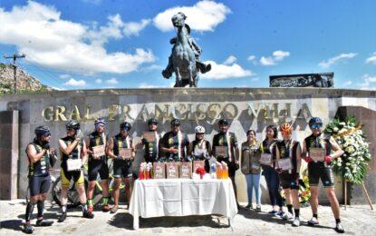 Por 5º año consecutivo llega a Parral la Cabalgata Ciclista de Ciudad Juárez.