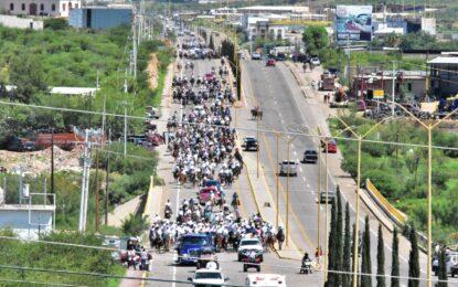 Villa tomó Parral con cientos de Dorados que eran esperados por un gran público