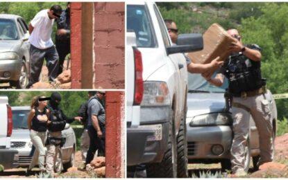 Cae pareja con 2 toneladas de marihuana en Chihuahua