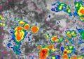 Alerta por lluvias y tormentas eléctricas