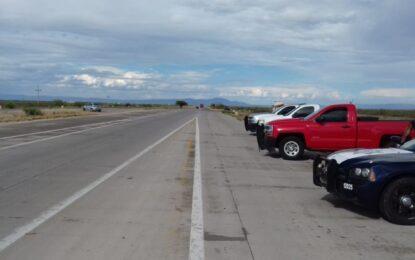 Otro robo de camioneta en la Parral a Jiménez