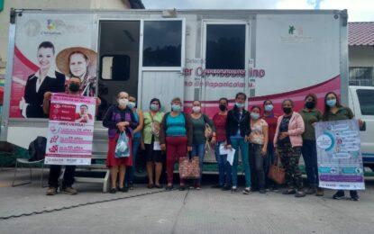 Realizan jornada para la detección de cáncer cérvico uterino y de mama en Gpe y Calvo