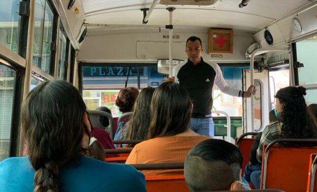 Pone en marcha alcalde Peña transporte gratuito para familiares que acuden al Cereso